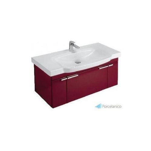 Villeroy&boch V&b sentique, szafka podumywalkowa, 950 x 450 x 425 mm, glossy red a25130dk (4022693887757)