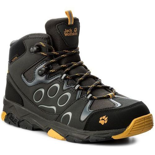 Trapery JACK WOLFSKIN - Mtn Attack 2 Texapore Mid K 4016732 Burly Yellow
