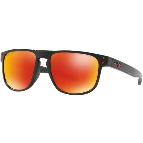 Oakley Holbrook R Okulary rowerowe pomarańczowy/czarny 2018 Okulary przeciwsłoneczne