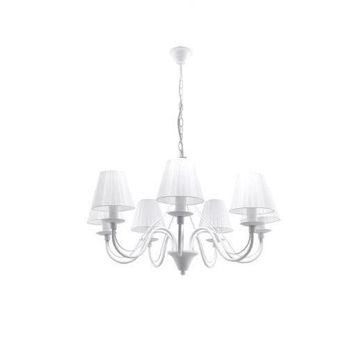 Lampa wisząca MINERWA abażur 7 Biały marki Sollux Lighting model SL.0560, LAWSL0560