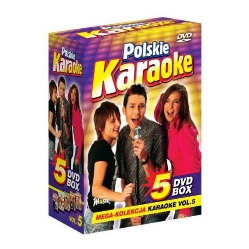 Ryszard music Polskie karaoke vol. 5 - mega kolekcja karaoke (5 płyt dvd)