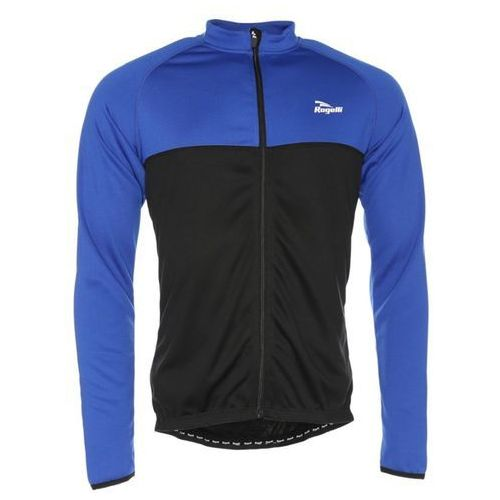 Rogelli Koszulka długi rękaw caluso czarno-niebieska (2010000512654)