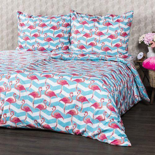 4Home Pościel bawełniana Flamingo, 140 x 200 cm, 70 x 90 cm, 140 x 200 cm, 70 x 90 cm