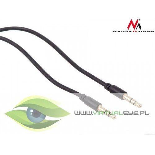 Maclean Przewód jack 3.5mm wtyk-wtyk 3m czarny MCTV-816 (5902211102588)