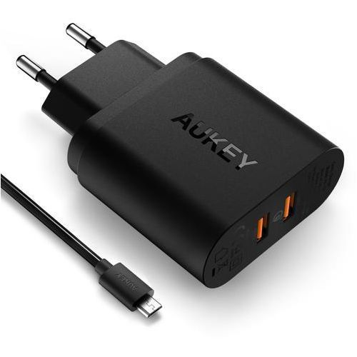 ŁAD AUKEY PA-T16 QUICK CHARGE 3.0 USB, 8F7A-867D7