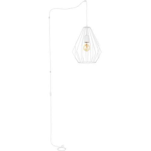 Tklighting Lampa wisząca druciana zwis loft tk lighting brylant 1x60w e27 biała 2283 (5901780522834)