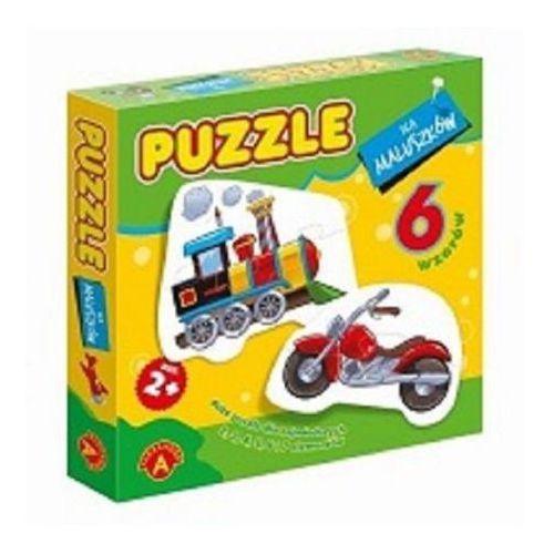Puzzle dla maluszków lokomotywa marki Alexander