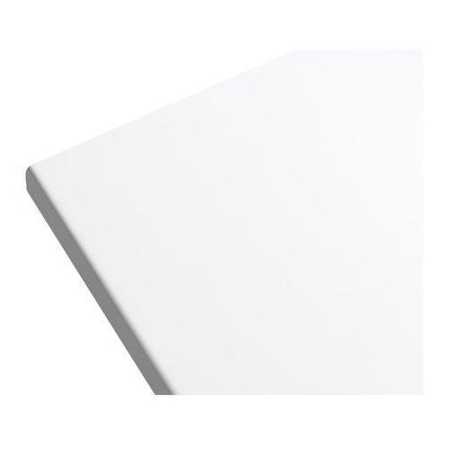 Blat łazienkowy marloes 120 x 45 cm biały lakier marki Goodhome