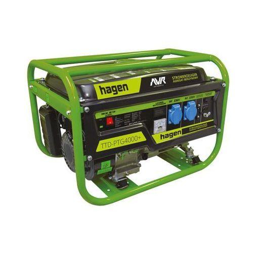 Agregat prądotwórczy 3.2kW 230/12V TTD-PTG4000+ HAGEN (5909000829459)