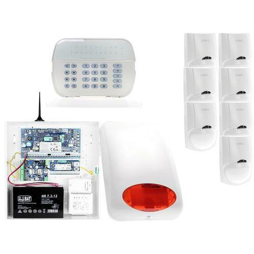 Za12546 zestaw alarmowy 7x czujnik ruchu manipulator led powiadomienie gsm marki Dsc