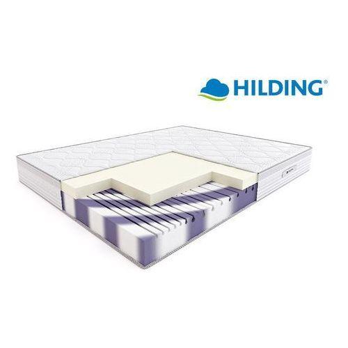 Materace hilding Hilding rumba - materac termoelastyczny, piankowy, rozmiar - 160x200, pokrowiec - medicott velur wyprzedaż, wysyłka gratis