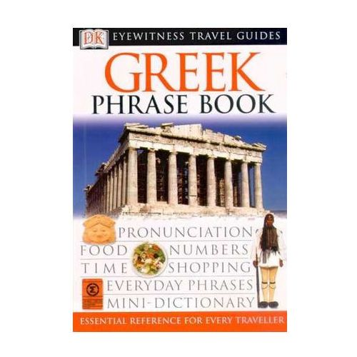 Grecja rozmówki Dorling Kinderslay Greek Phrasebook, oprawa miękka