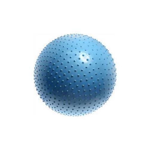 Piłka do masażu Lifefit gimnastyczna MASSAGE BALL 75 cm, niebieska