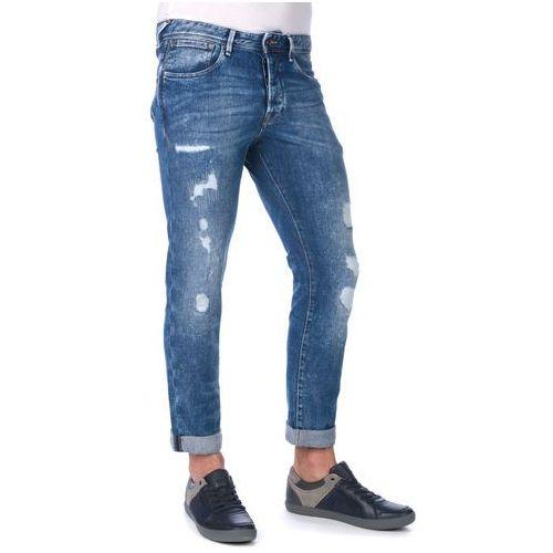 jeansy męskie cash journey 36/32 niebieski marki Pepe jeans