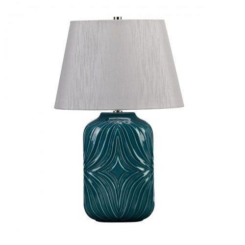 Muse turquoise nocna muse/tl turqse 56cm ceramika-niebieski-srebrny marki Elstead
