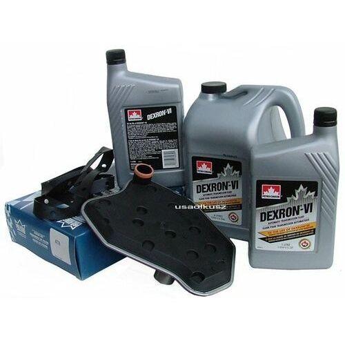 Filtr oraz olej Dextron-VI automatycznej skrzyni biegów 4R70W Lincoln Mark LT 5,4
