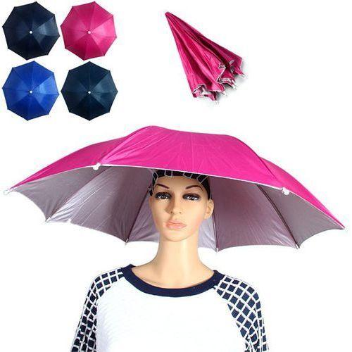 Yoshikawa 70cm Diameter Folding Umbrella Hat z kategorii Pozostałe wędkarstwo