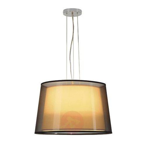 Spotline Lampa wisząca zwis bishade pd-1 3x23w e27 biało-czarna 155650