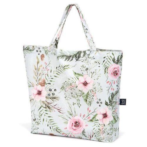 Shopper bag - wild blossom mint - torba na zakupy - marki La millou