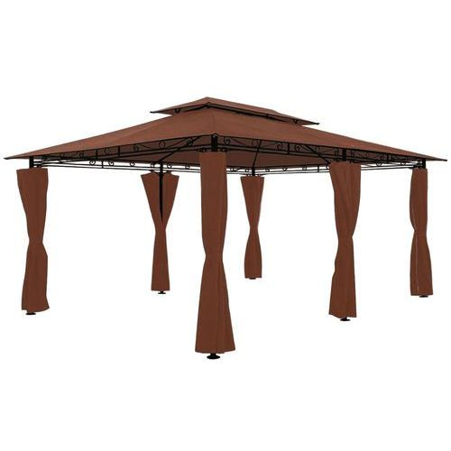 Garden point Pawilon ogrodowy ibiza 3x4m brązowy - transport gratis!