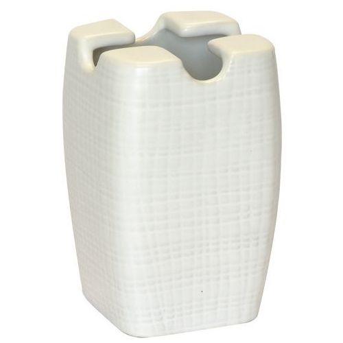 Kubek na szczoteczki BA-DE ceramika Biały (5907582113157)