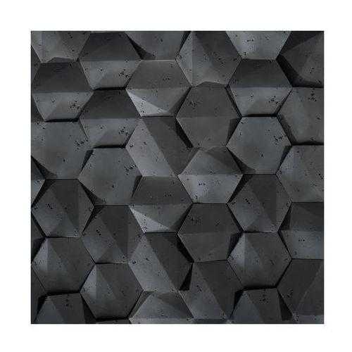Kamień dekoracyjny playa/hexagon 3d czarny 19,5 x 17 cm marki Steinblau