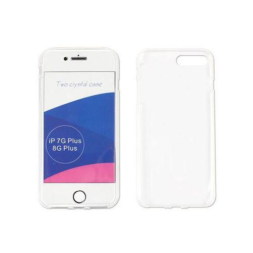 Etuo full body slim Apple iphone 8 plus - etui na telefon full body slim - biały