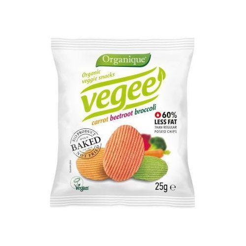 Chipsy warzywne BEZGL. BIO 25 g Vegee - Cibi, 1540