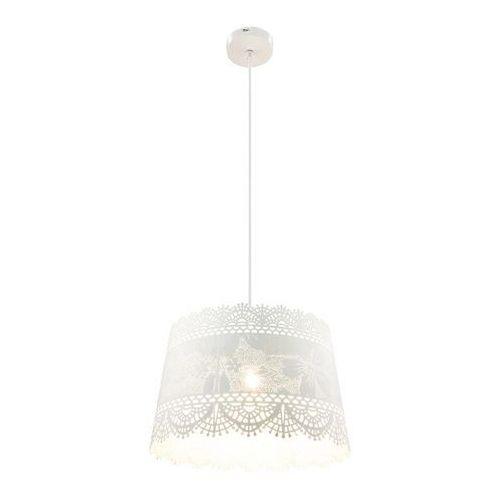 Lampa wisząca bruin 15257h1 lampa sufitowa zwis 1x60w e27 biała marki Globo