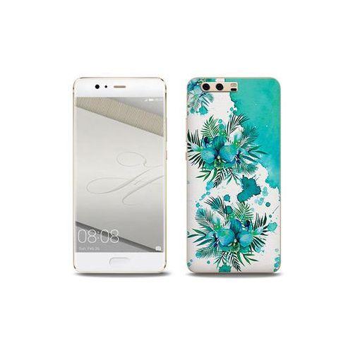 Fantastic Case - Huawei P10 Plus - etui na telefon Fantastic Case - turkusowa orchidea
