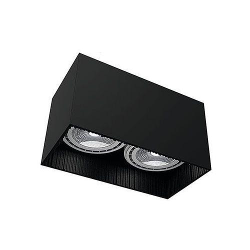 Plafon Nowodvorski Groove 9316 lampa sufitowa oprawa spot 2X75W GU10 ES111 czarny (5903139931694)