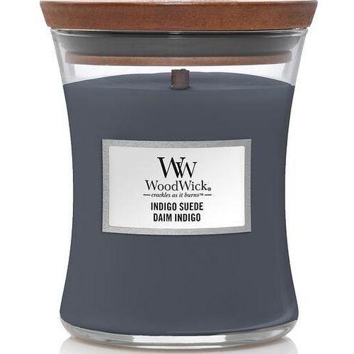 Świeca core woodwick indigo suede średnia (5038581121352)