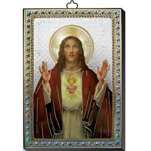 Obrazek z Najświętszym Sercem Jezusa 10x14 cm z kategorii Dewocjonalia