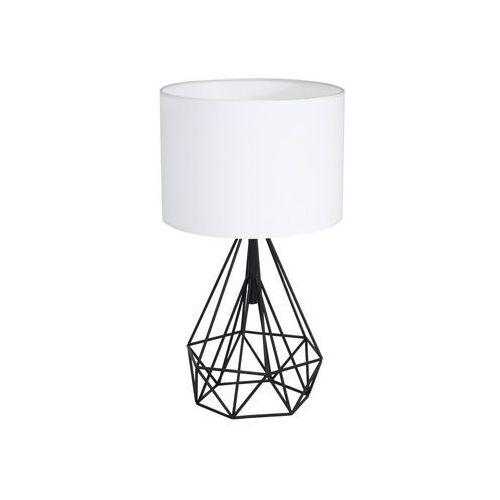 Milagro Lampka nocna triangolo 1 x 60 w e27 ip20 czarno-biała