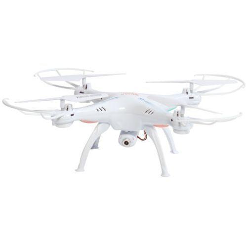Dron z kamerą - biały