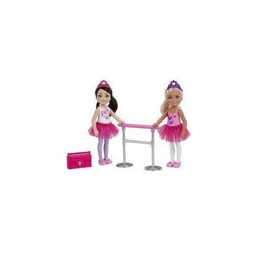 lalka chelsea baletnica (blondynka i brunetka) marki Barbie