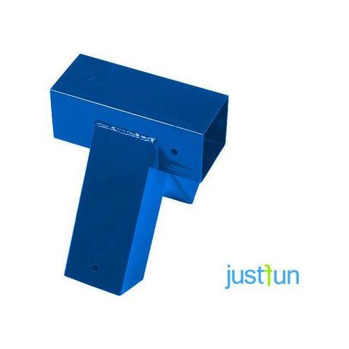 Łącznik do belki 90x90 mm, 100° - niebieski