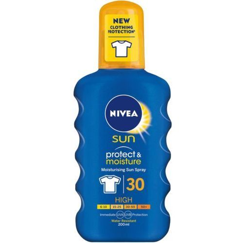 Nivea Sun Protect & Moisture spray nawilżający do opalania SPF 30 200 ml