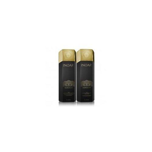 keratyna do prostowania 1000ml + szampon oczyszczający 1000ml marki Inoar