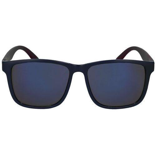 4f Okulary przeciwsłoneczne oku003 - bordowy ||granatowy (5901965888403)
