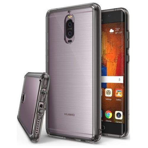 Etui ringke fusion dla Huawei Mate 9 Pro smoke black - Szary (8809525012916)
