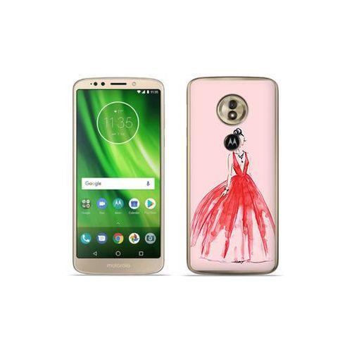 etuo Fantastic Case - Motorola Moto G6 Play - etui na telefon Fantastic Case - czerwona suknia