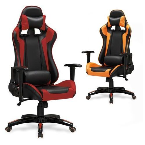 Fotel gamingowy defender - fotel dla gracza, dostawa gratis! marki Halmar