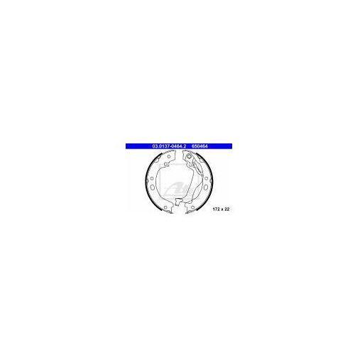 ATE Zesatw szczęk hamulcowych, hamulec postojowy - 03.0137-0464 z kategorii szczęki hamulcowe