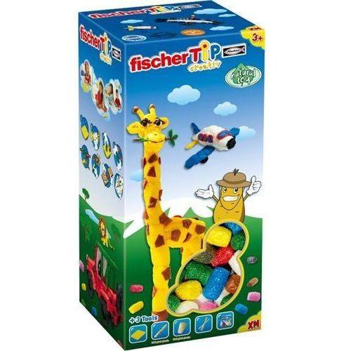 Fischer TiP Box XM do kreatywnych zabaw dla dzieci, chrupki kukurydziane do zabawy