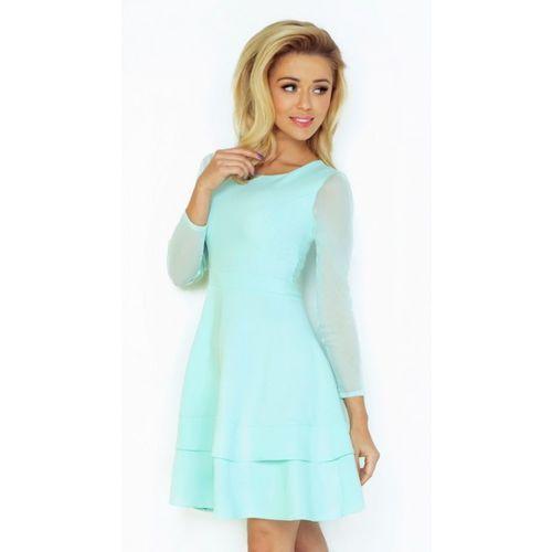 Sukienka Numoco Mint S, kolor niebieski