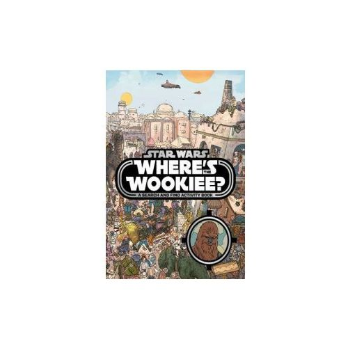 Star Wars: Where's the Wookiee? Search and Find Book (9781405284196)