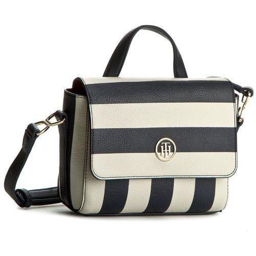 Torebka TOMMY HILFIGER - Fashion Novelty Mini Satchel Stripe AW0AW03718 902 - produkt z kategorii- Torebki