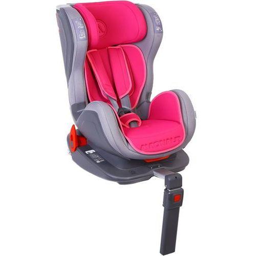 AVIONAUT Fotelik samochodowy ISOFIX GLIDER (9-18 kg) - szaro-różowy (5907603466392)