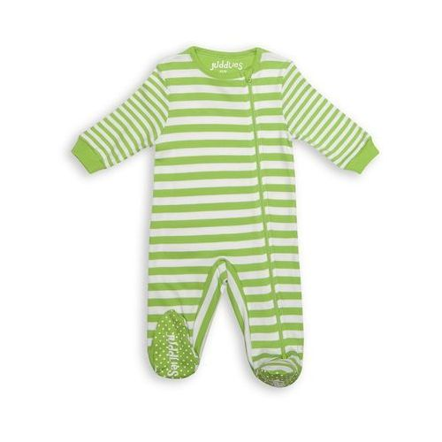 pajacyk greenery stripe 3-6 m marki Juddlies